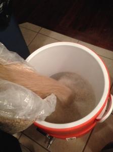 Adding the Grains
